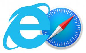 Internet Explorer and Safari