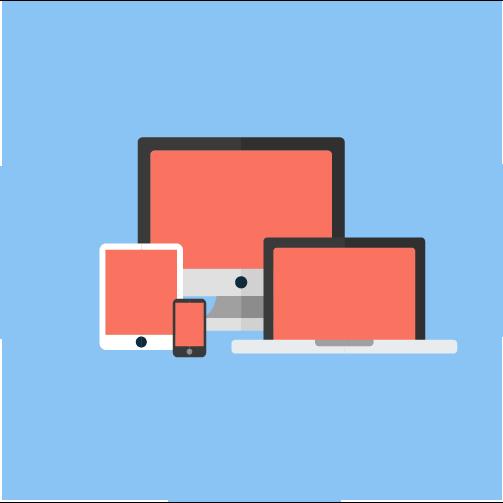 Multiple devices - tablet, phone, laptop, desktop, etc.