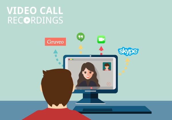 Make video call recording using popular software