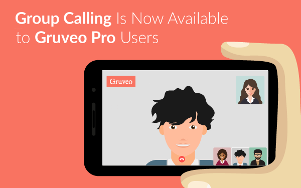 Gruveo group video calling is released.