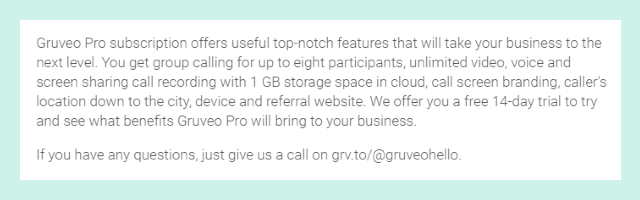 Gruveo handle on other websites - G2 Crowd profile with Gruveo handleG2 Crowd profile with Gruveo handle